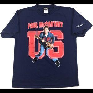 2005 Paul McCartney US Concert Tour Men's T-Shirt